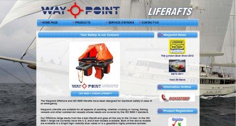 waypointliferafts.com